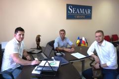 The Seamar Ukraine office